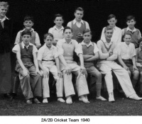 2A/2B Cricket team 1940