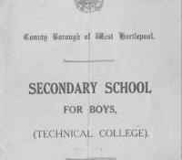 1914 School Prospectus