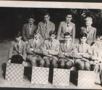 School Chess team - circa 1962