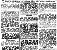 Alderman Hogg's Report 1958